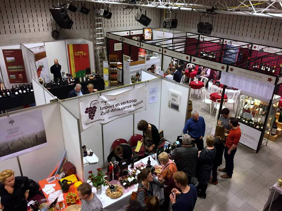 29ste wijnbeurs vtbKultuur Wijnkring Gent