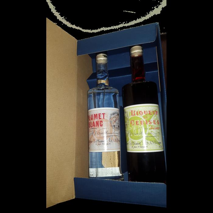 Giftpack Plumet Blanc- Pluet Rouge
