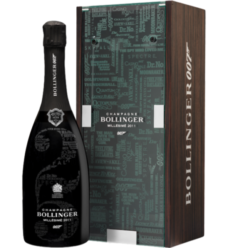 Champagne Bollinger 2011 Limited Edition 007 James Bond
