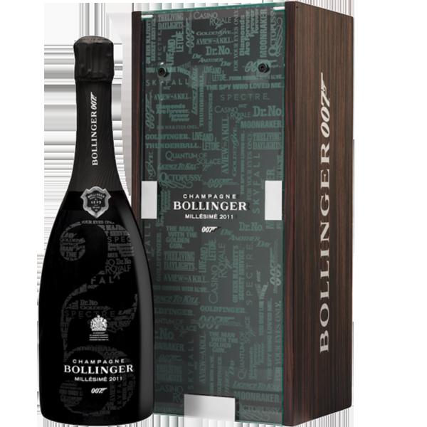 Champagne Bollinger 2011 Limited Edition 007 James Bond