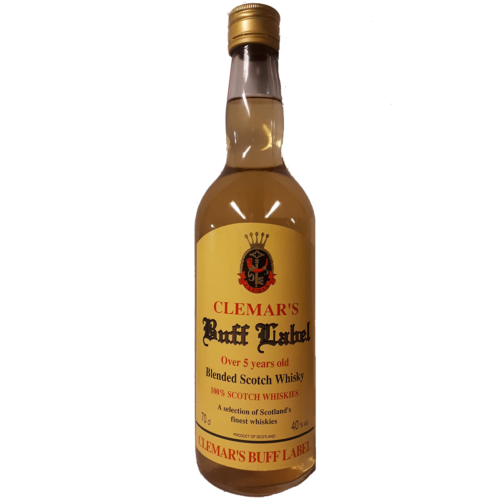 Whisky Buff Label 5 years Van den bussche