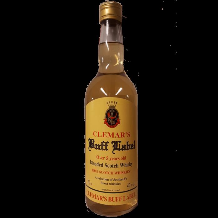 Whisky Buff Label 5 years Van den bussche
