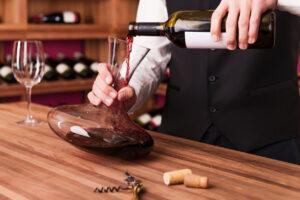 Waarom wijn Decanteren